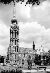 B28537 Budapest Matthias church  hungary