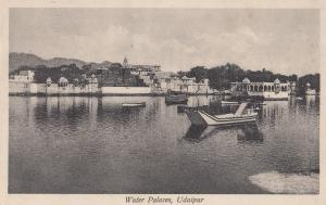 Water Palace Udaipur Indian Postcard