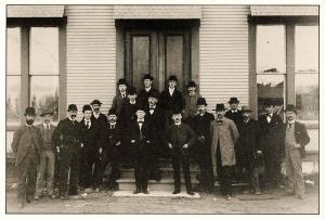 VT - Proctor, 1890. Marble Company Employees (Repro)