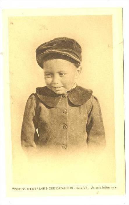 Boy, Missions D´Extreme-Nord Canadien, Serie VII-Un Petit Indien Malin, Nuna...