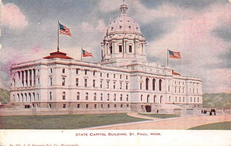 USA Minn. St. Paul State Capitol Building