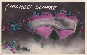 RP: VALENTINE'S DAY, Hands Amiamoci Sempre , 1921