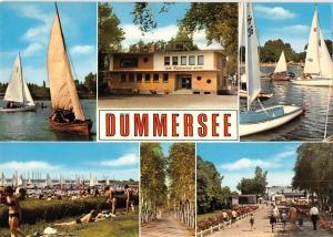 GG12040 Duemmersee Cafe Restaurant Hotel, Strand Hafen Schiff Harbour Boats