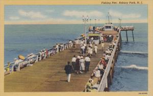 Fishing Pier , ASBURY PARK , New Jersey , 30-40s