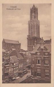Netherlands Utrecht Vischmarkt me Dom