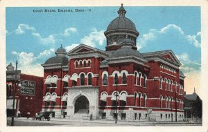 LP14 Emporia  Kansas Postcard Court House