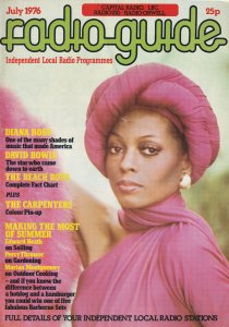 Diana Ross David Bowie The Carpenters Rare Capital Radio1976 Magazine