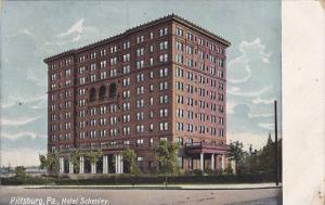 Exterior, Hotel Schenley, Pittsburg,   Pennsylvania,  PU-1909