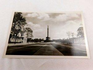 1920's-30's RPPC Street View Siegessaule, Berlin, Germany Real Photo 2 P30