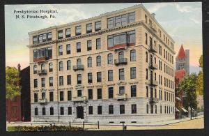 Presbyterian Hospital Pittsburgh Pennsylvania Unused c1910s