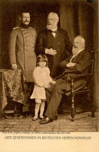 German Royalty - Four Generations of the Bavarian Imperial Family            ...