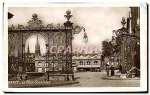 Old Postcard Nancy Place Stanislas