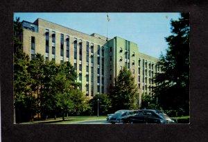 NC Charlotte Memorial Hospital North Carolina Postcard