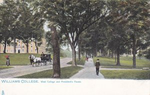 MASSACHUSETTS, PU-1908; Williams College, West College And President's House