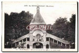 Postcard Old Ste Anne D Auray La Scala oa is given offices in the wind