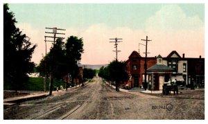 New York  Gloversville  North Main street