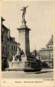 CPA Troyes- Monument des Bienfaiteurs FRANCE (1007647)