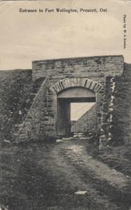 PRESCOTT , Ontario , Canada , 00-10s ; Entrance to Fort Wellington # 3