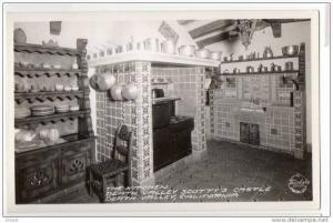 RP: DEATH VALLEY , California , 30-40s ; Scotty's Castle ; The Kitchen ; FRAS...