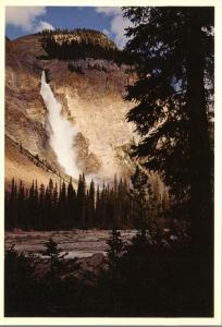 Takakkaw Falls in the Yoho Valley - British Columbia, Canada