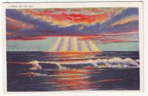 P343 JLs 1935 postcard colorful view mood of the sea