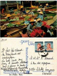 CPM AK THAILAND-Damnoen Saduak-Floating Market (335889)