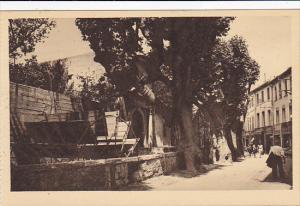 France Avignon La rue des Teinturiers