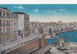 TARANTO, Puglia , Italy , 1900-10s ; Citta vecchia e Via Peripso
