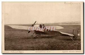 Old Postcard Jet Aviation Aerodrome Device has military Buc Serie F