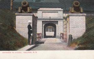 Entrance to Citadel, HALIFAX , Nova Scotia , Canada , 1900-10s