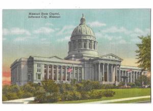 Missouri State Capitol Jefferson City Missouri Built 1918