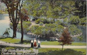 West Virginia Chester The Island Rock Springs Park Near East Liverpool Ohio