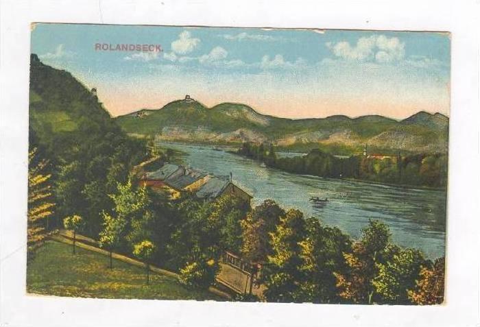 Rolandseck , Remagen, Rhineland-Palatinate, Germany. 00-10s