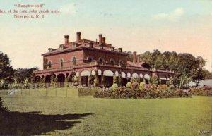NEWPORT, RI BEECHWOOD RESIDENCE OF LATE JOHN JACOB ASTOR
