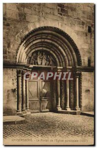 Old Postcard Kaysersberg The Portal The Parish Church