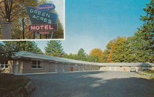 KINSMAN , Ohio, 1950-60s ; Green Acres Motel