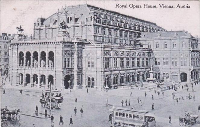 Austria Vienna Wien The Royal Opera House