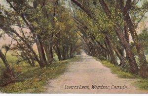 WINDSOR , Ontario , Canada, PU-1910 ; Lovers Lane