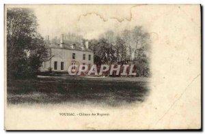 Old Postcard Voussac Chateau des Magnoux