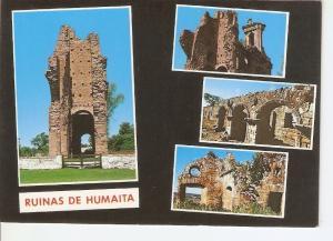 Postal 034775 : Paraguay. Ruinas de Humaita