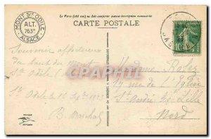 Old Postcard Mont Sainte Odile Convent