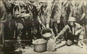 Bath MI School Tragedy Mass Murderer Maniac Dynamite MaCabre 1927 RPPC xst