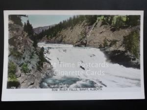 Canada: Bow River Falls, Banff, Alberta c1940's RP by Gowen Sutton Co