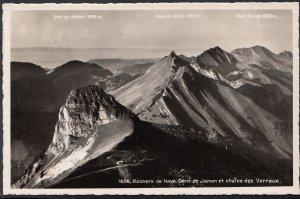 Switzerland Postcard - Rochers De Naye - Dent De Jaman   A6392