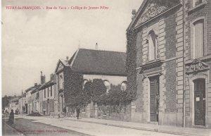 Vitry le FRANCOIS , France , 00-10s : Rue de Vaux , College de Jeunes Filles