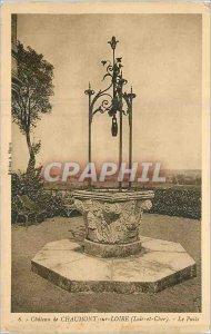 Old Postcard Chateau de Chaumont sur Loire Loir et Cher's Well