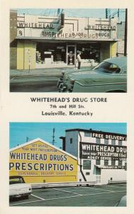 LOUISVILLE , Kentucky , 50-60s ; Whitehead's Drug Store