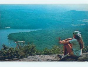Pre-1980 CAMP SCENE Ossipee New Hampshire NH c3769