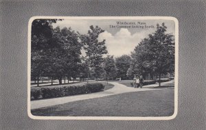 WINCHESTER, Massachusetts, 1900-1910's; The Common Looking South