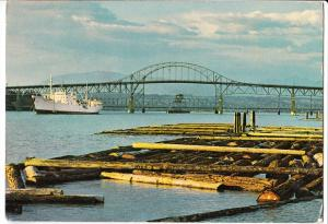 Canada, Ships in Port, New-Westminster, British Columbia, used Postcard